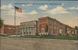 Shortridge High School and Caleb Mill Hall