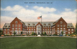 View of Riley Hospital