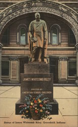 Statue of James Whitcomb