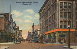 Walnut Street Business Section