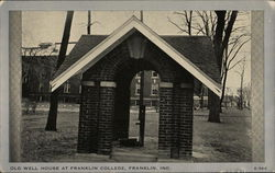 Old Well House at Franklin College
