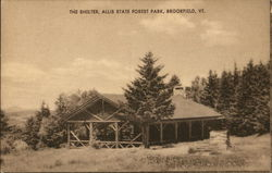 The Shelter, Allis State Forest Park