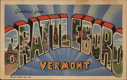 Greetings from Battleboro, Vermont
