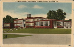 Agricultural Engineering, Clemson College