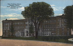 New Training School, Western Illinois State Teachers College Postcard