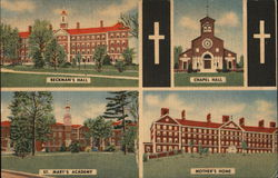 Beckman's Hall; Chapel Hall; St. Mary's Academy; Mother's Home