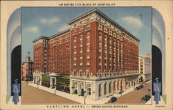 The Pantlind Hotel, an Entire City Block of Hospitality