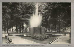 Electric Fountain, Bronson Park