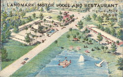 Landmark Motor Lodge and Restaurant, U.S. Highway #301