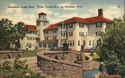 Beautiful Columbia Gorge Hotel