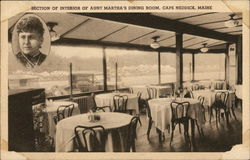 Section of Interior of Aunt Martha's Dining Room