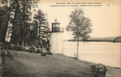 Whitloc Light, St. Croix River