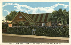 Log Cabin Tea Room, 325 Datura St.
