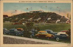 Crowd Watching a Game at Foreman Field