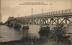 Toll Bridge over Piscataqua River Between Dover and Portsmouth