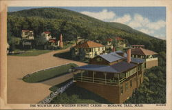 THe Wigwam and Western Summit Cabins, Mohawk Trail