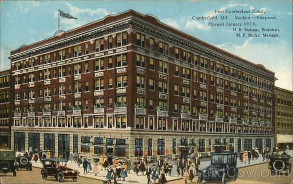 Fort Cumberland Hotel Maryland