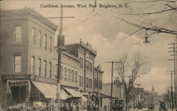 Castleton Avenue West New Brighton New York
