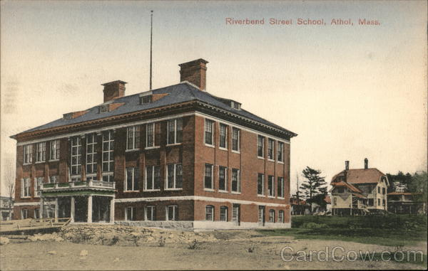 Riverbend Street School Athol Massachusetts