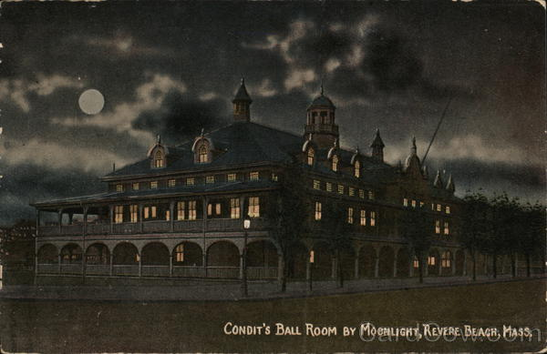 Condit's Ballroom at Moonlight Revere Beach Massachusetts