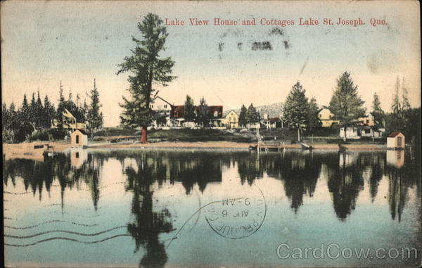 Lake View House and Cottages Lac-Saint-Joseph Canada