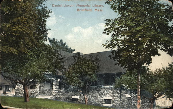 Daniel Lincoln Memorial Library Brimfield Massachusetts