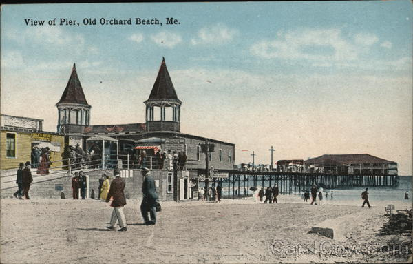 View of Pier Old Orchard Beach Maine