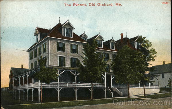 The Everett Old Orchard Beach Maine