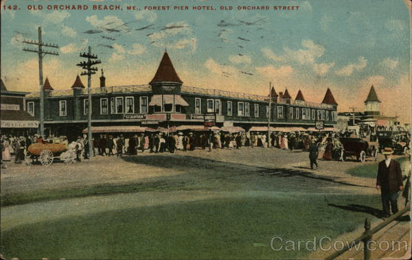 Forest Pier Hotel, Old Orchard Street Old Orchard Beach Maine