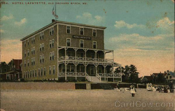 Hotel Lafayette Old Orchard Beach Maine