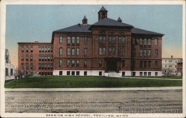 Deering High School Portland Maine