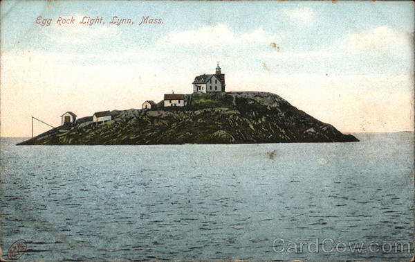 Egg Rock Light Lynn Massachusetts