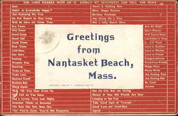 Greetings from Nantasket Beach