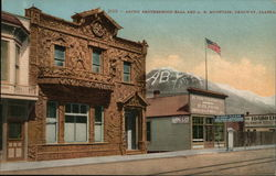 Arctic Brotherhood Hall and A.B. Mountain