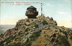 US Weather Observatory on Summit, Mount Tamalpais