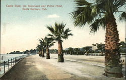 Castle Rock, the Boulevard and Potter Hotel