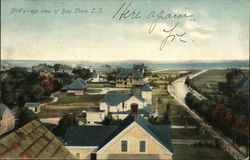 Bird's-eye View of Bay Shore L.I.