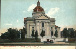 Saint Catherine R. C. Church Postcard