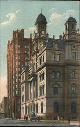 Post Office and Metropolitan Building Postcard