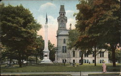 Soldiers' and Sailors' Monument, Courthouse and Grounds