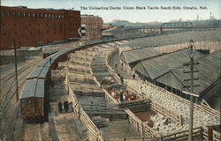 The Unloading Docks, Union Stock Yards, South Side
