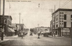 Scene on Bridge Street Postcard