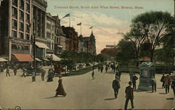 Tremont Street, South from West Street