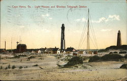 Light Houses and Wireless Telegraph Station