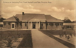 Entrance to Swimming Pool, Frank Newhall Look Park