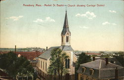 Market Street Baptist Church Showing Carriage District
