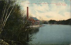 View at Duck Pond Showing Old Pumping Station