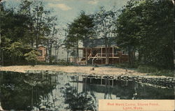 Red Mens Camp, Sluice Pond