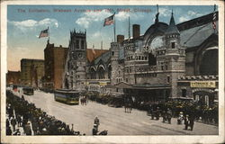 The Coliseum, Wabash Avenue and 16th Street Postcard