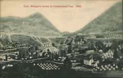 General Morgan's Army in the Cumberland Gap, 1862
